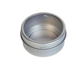 Magnetisch theeblik met venster 25 gram