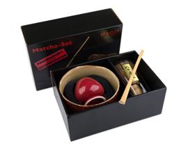 Matcha set in luxe cadeauverpakking