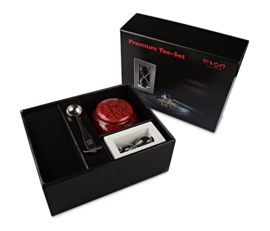 Premium Thee Cadeau Theeset Red
