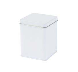 Theeblik vierkant wit 100 gram