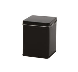 Theeblik vierkant zwart 100 gram