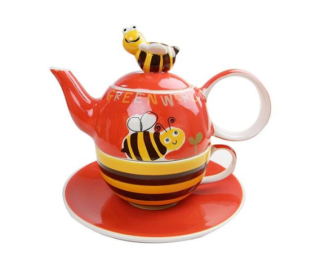 Tea for one Set Honeybee