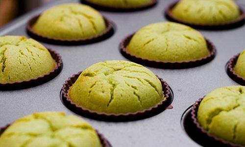 Zelf matcha cupcakes maken