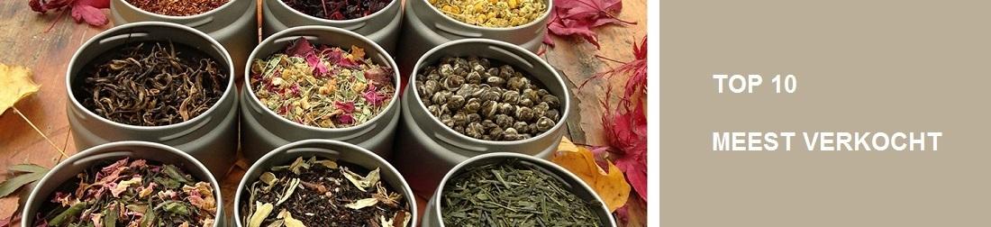 Top 10 meest verkochte losse thee