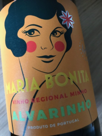 Vinho Verde DOP Maria Bonita, Alvarinho - 2017 -