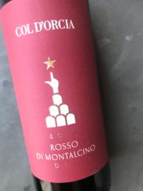 COL D'ORCIA, ROSSO DI MONTALCINO DOC BIO 2019