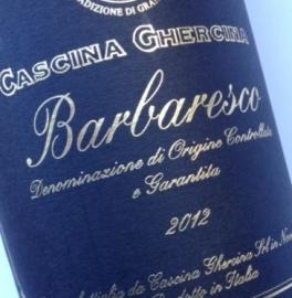 Barbaresco DOCG 2012 - Cascina Ghercina