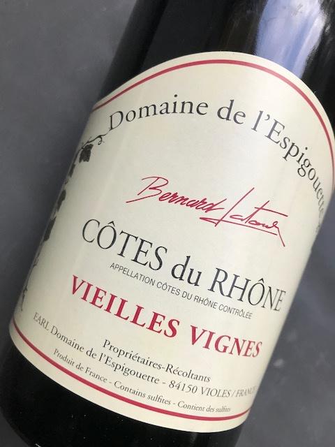 Côtes du Rhône Vieilles Vignes 2016 - Domaine de l'Espigouette