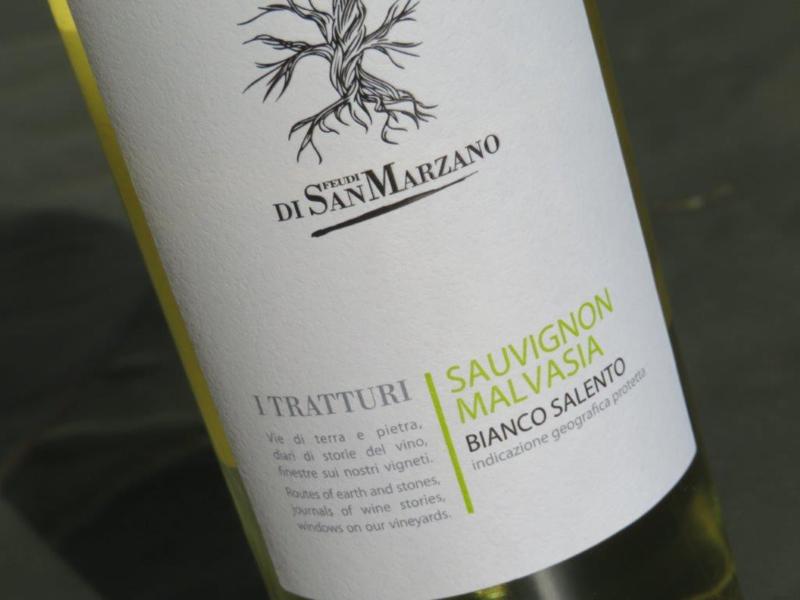 I Tratturi Sauvignon-Malvasia, 2018 San Marzano