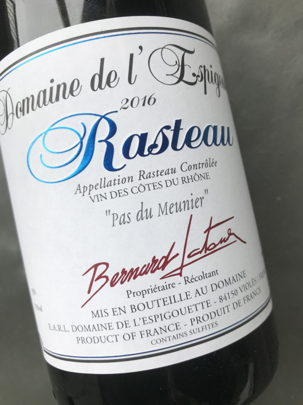 Rhône Rasteau 2016 - Domaine de l'Espigouette