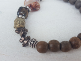 Love bracelet brown