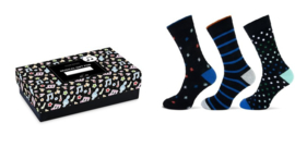 Musical Gift in a Box '3 Pack' Happy Socks 25633 (Heren)