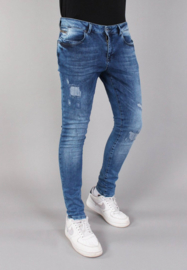 Slim fit Jeans 'Dirty' 82679 Blue Gabbiano
