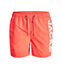 Zwemshort Hot Coral JACK & JONES