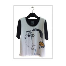 T-shirt CUBIST