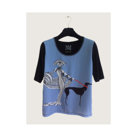 T-shirt ART DECO WOMAN