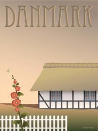 Vissevasse poster Danmark Farmhouse