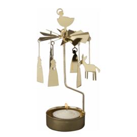 Pluto Produkter theelicht carrousel Crib Gold