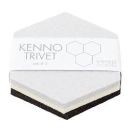 Verso Design onderzetters Kenno Trivet Set