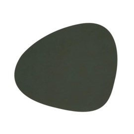 Lind DNA Table mat Curve - Nupo Dark Green