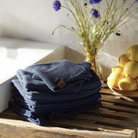 Humdakin Knitted Kitchen Towel Handdoek - Sea blue
