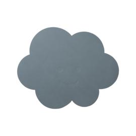 Lind DNA kinderplacemat Cloud - Nupo Light Blue