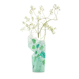 Tiny Miracles Paper Vase Cover - Jungle Leaves - large