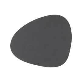 Lind DNA Table mat Curve - Nupo Anthracite