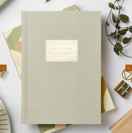 Katie Leamon Notebook Grey