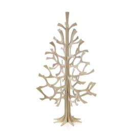 Lovi Spruce tree houten dennenboom 25 cm - Naturel