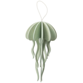 Lovi Jellyfish houten kaart - Medium - diverse kleuren