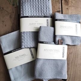 Humdakin Knitted Kitchen Towel Handdoek - Stone