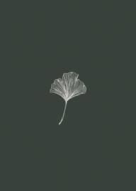 Inkylines Gingko groen A6 print