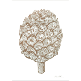 Monika Petersen Mini Art Print Artichoke | A5