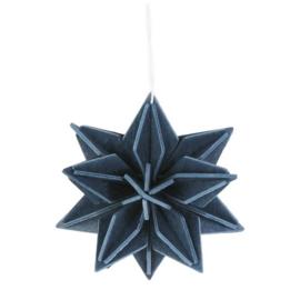 Lovi Star houten ster kaart | Medium | diverse kleuren