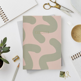 Katie Leamon Notebook Green Wiro