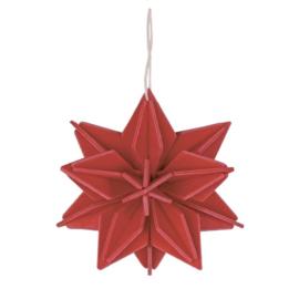 Lovi Star houten ster kaart | Large | diverse kleuren