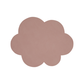 Lind DNA kinderplacemat Cloud - Nupo Rose