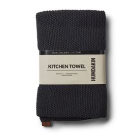 Humdakin Coal Knitted Kitchen Towel Handdoek