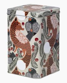 Marimekko Ketunmarja Tin Box opbergblik