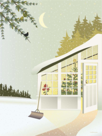 Vissevasse poster Christmas in the Greenhouse | 2 maten