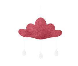 Gamcha vilten wolk Roze