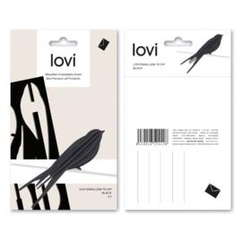 Lovi Swallow houten zwaluw kaart | Small | diverse kleuren