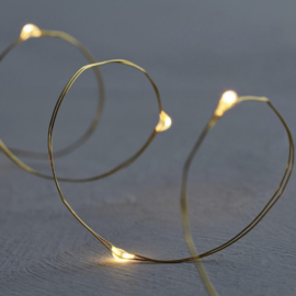 Sirius Knirke Gold Fairy Lights 3,9 mtr