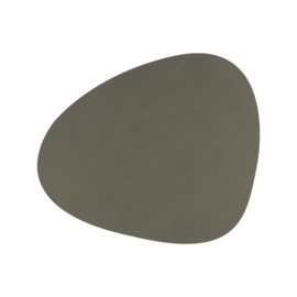 Lind DNA Table mat Curve - Nupo Army Green