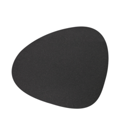 Lind DNA Table mat Curve - Core Flecked Anthracite