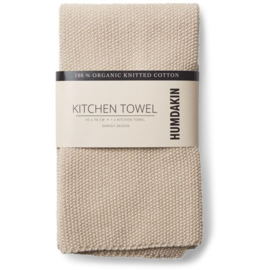 Humdakin Knitted Kitchen Towel Handdoek - Light Stone