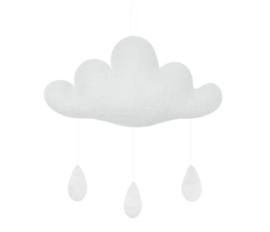 Gamcha vilten wolk Wit