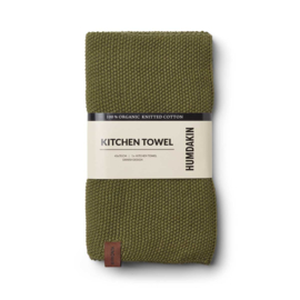 Humdakin Fern Knitted Kitchen Towel Handdoek