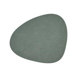 Lind DNA Table mat Curve - Hippo Pastel Green